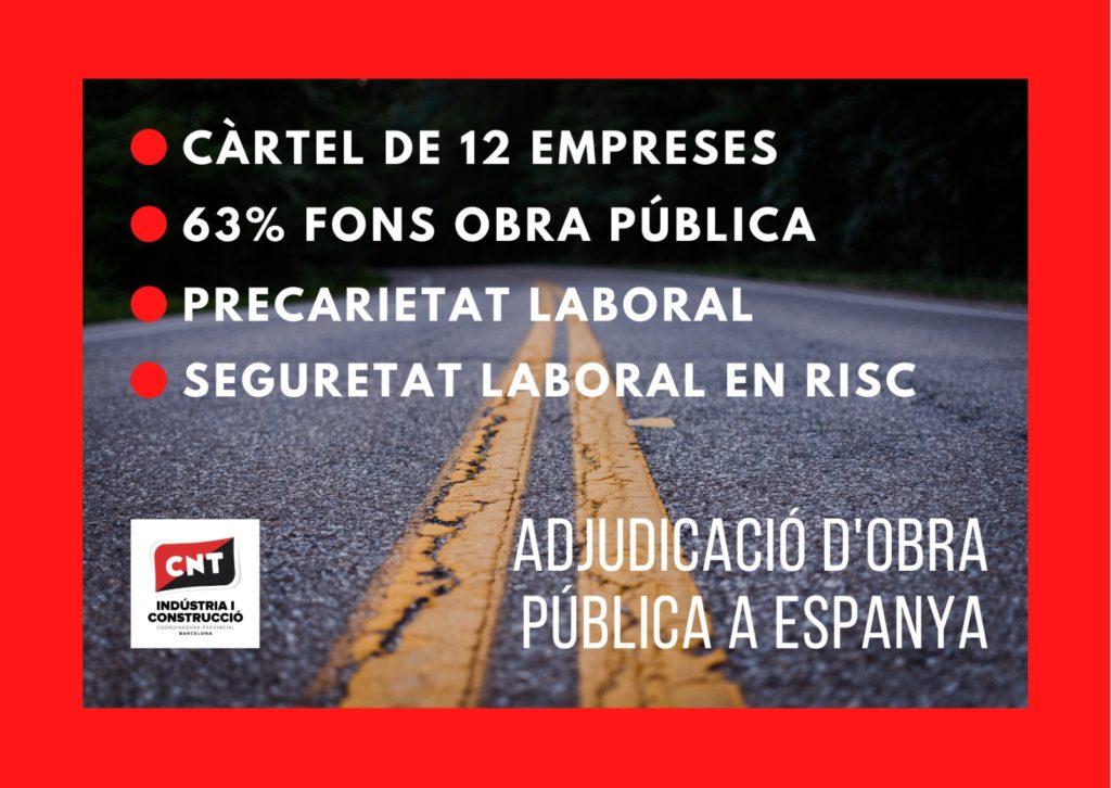 Cártel de empresas para adjudicación de obra pública